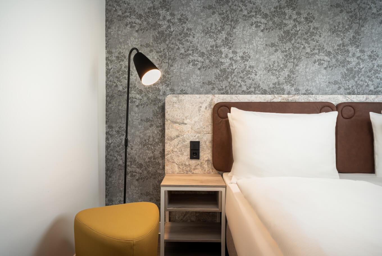 Stay overnight at Arthotel ANA Amber Rostock .