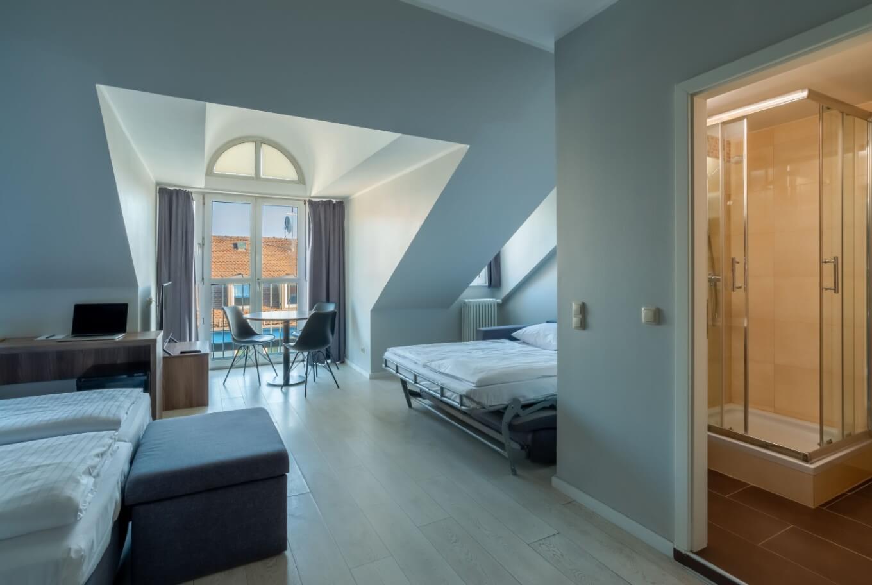 Familienzimmer im Hotel München Zentrum.