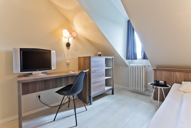 Einzelzimmer im Hotel München Zentrum.