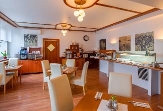 Der Frühstüksberiech vom Arthotel ANA Astor.