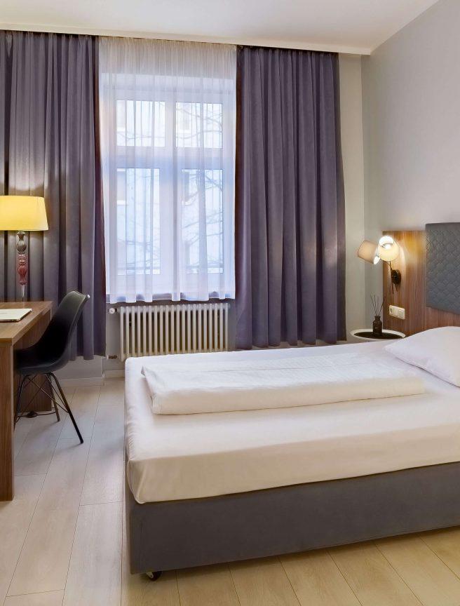 Übernachten Sim im Einzelzimmer vom Hotel München Zentrum.