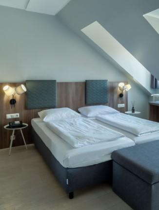 Zimmer im Arthotel ANA Astor.