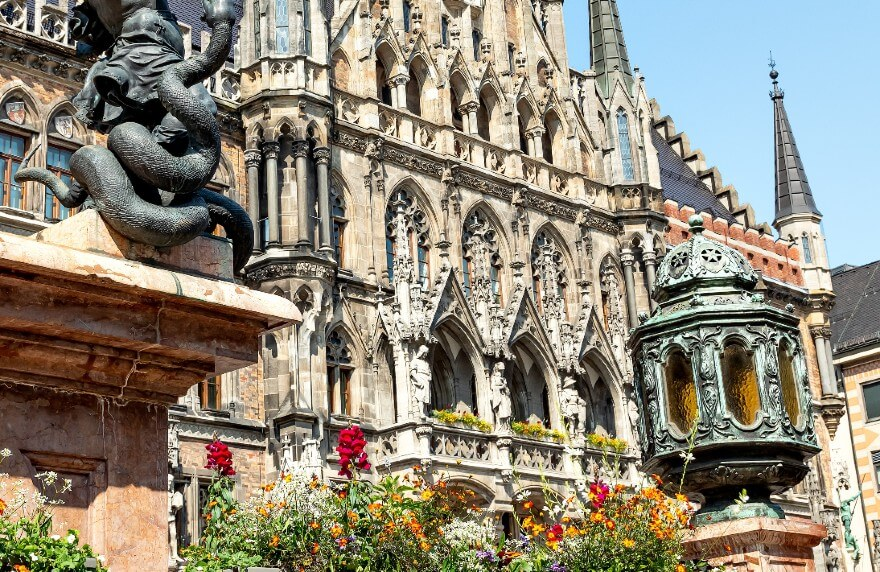 Die Innenstadt vom Hotel München Zentrum.