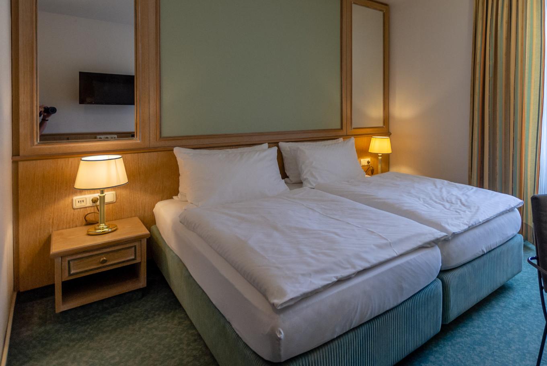 Gemütlich schlafen in unserem Augsburg Hotel.