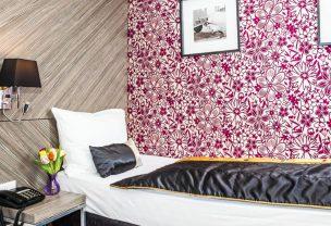 Die Einzelzimmer in unserem Boutique Hotel in Wien.