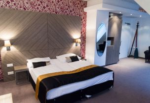 The suite in our Boutique Hotel Vienna.