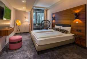 Handicapped accessible room in the Boutique Hotel Munich