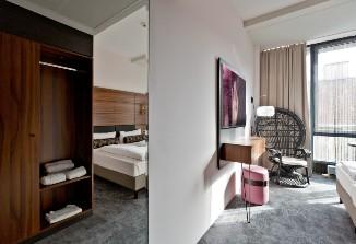 Die schönen Zimmer vom Arthotel ANA Diva.