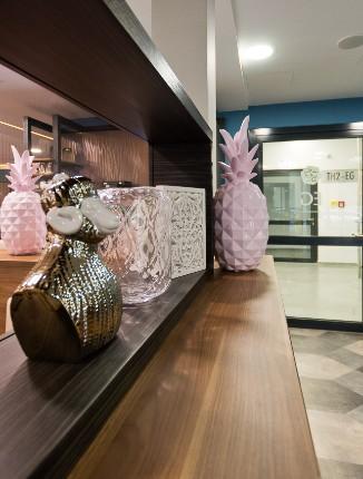 Pinke Anasnas im Arthotel ANA Diva.