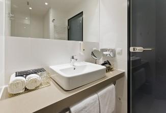 Hände waschen im Arhotel ANA Diva München.
