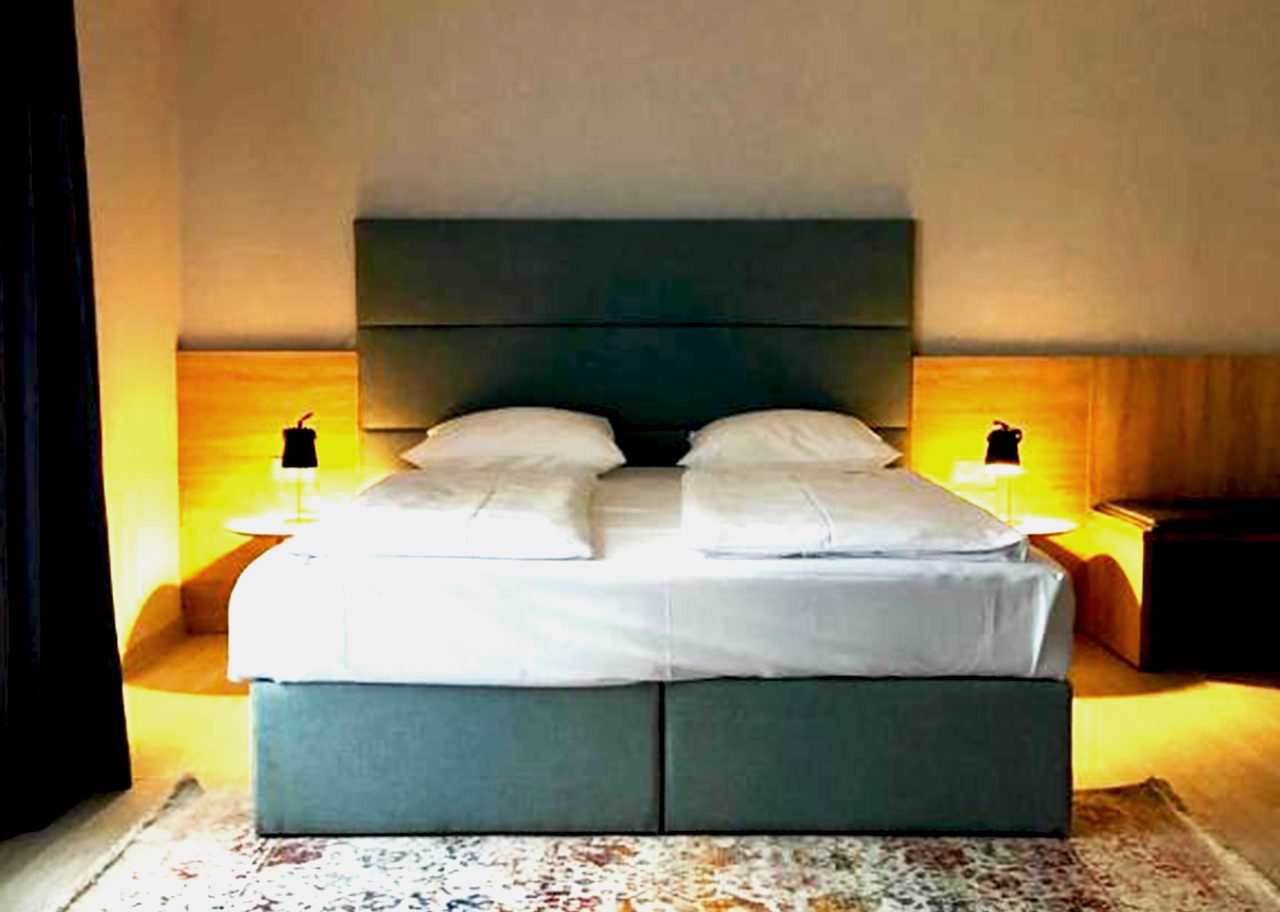 Our newly renovated double room at Arthotel ANA Eden.