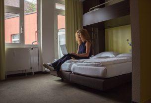 Komfortzimmer im Arthotel ANA HafenCity