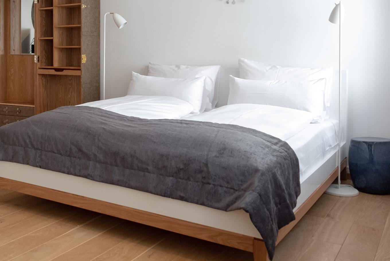 Die Betten in unserem Boardinghouse Augsburg.