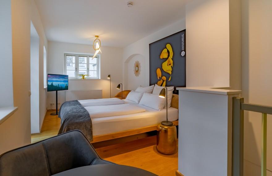 Erholsam schalfen in unserem Wohnen auf Zeit Hotel in Augsburg.