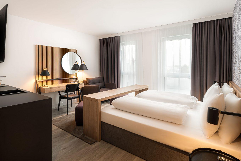 Wohnen auf Zeit in Augsburg in unserem neunen Arthotel ANA Augsburg.