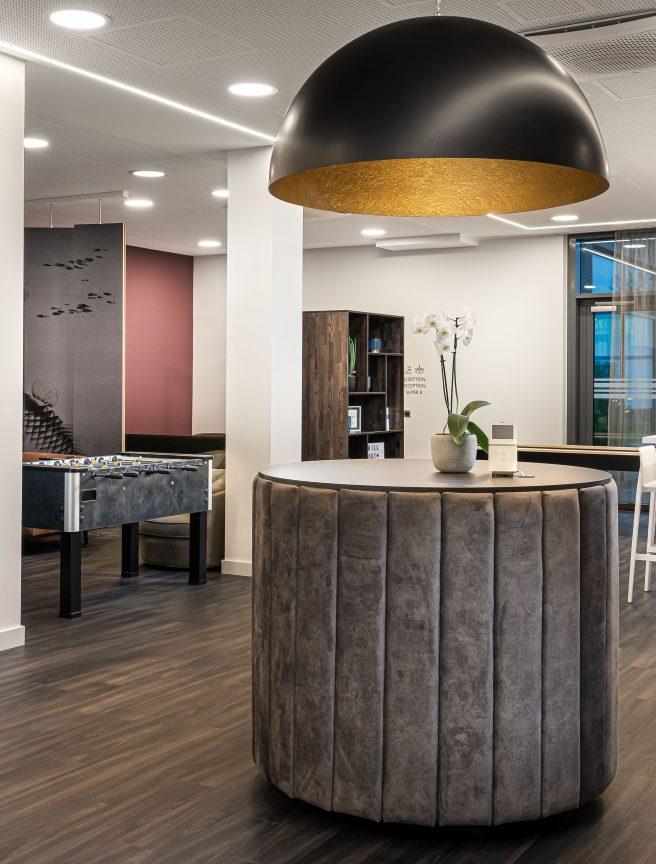 Eingangsbereich vom Arthotel ANA Living Augsburg.