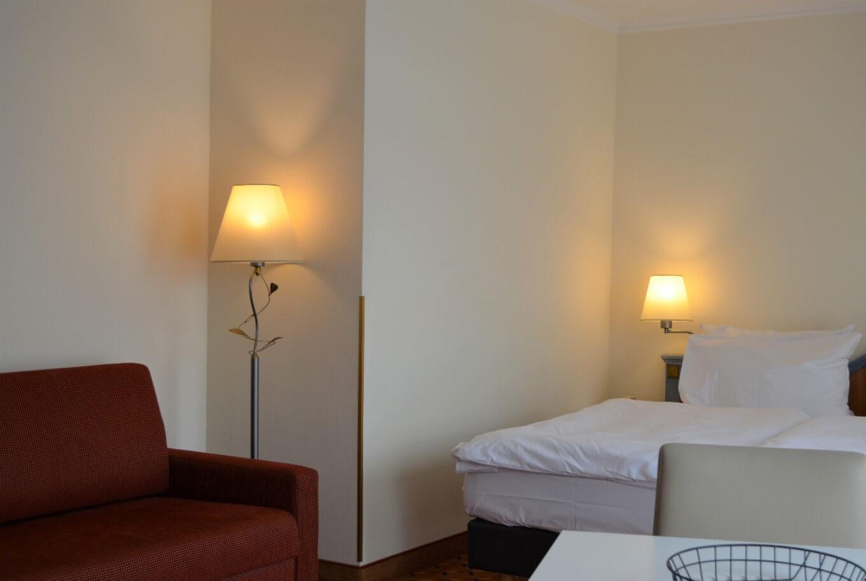 Übernachten Sie im ANA Living Munich Doppelzimmer.