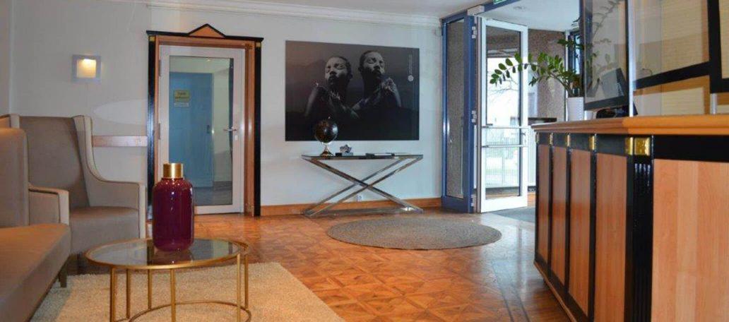 Die Lobby vom ANA Living Munich by Arthotel ANA,