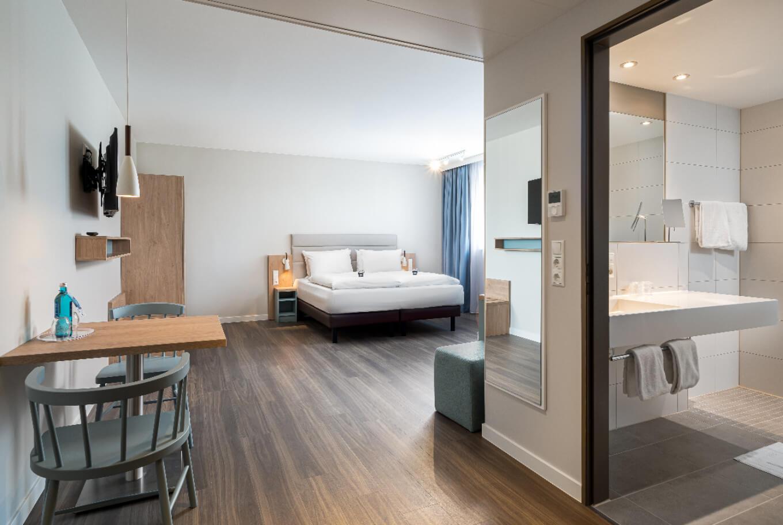 Standard apartment in Oberhausen.