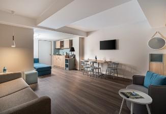 Die Suite im Arthotel ANA Living Oberhausen.