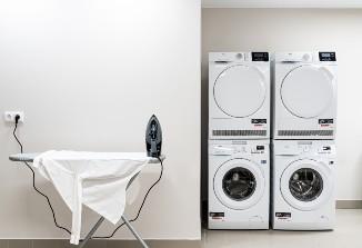 Die Waschküche im Arthotel ANA Living Oberhausen.