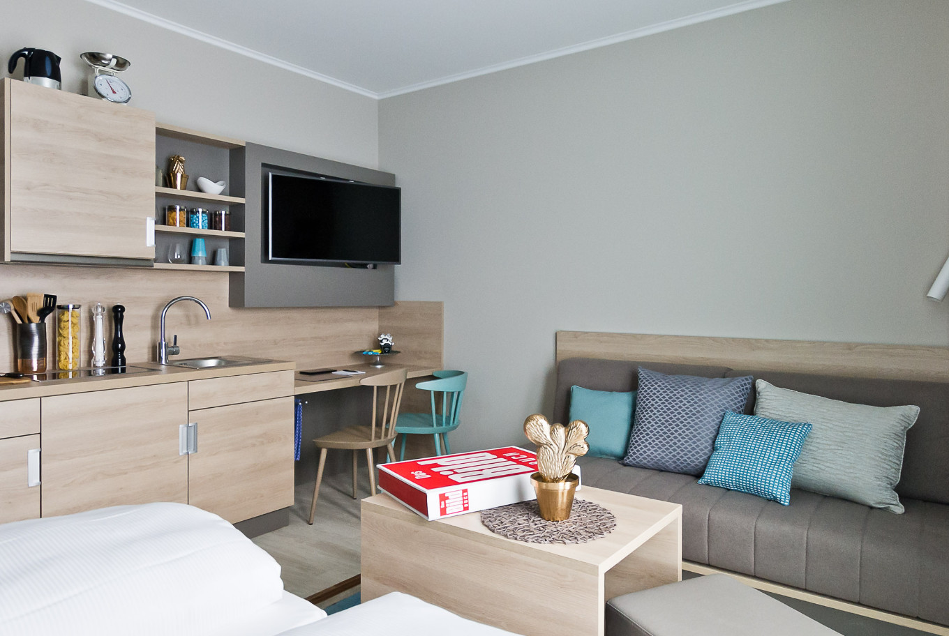 Living on time will be made as comfortable as possible in our rooms.