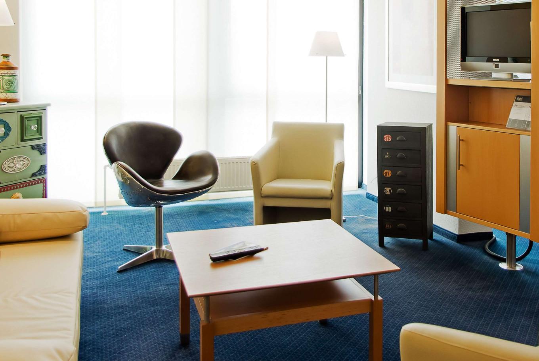 Mit der Familie in Stuttgart? Unser Familienzimmer im Arthotel ANA Stuttgart ist die perfekte Übernachtungsmöglichkeit.