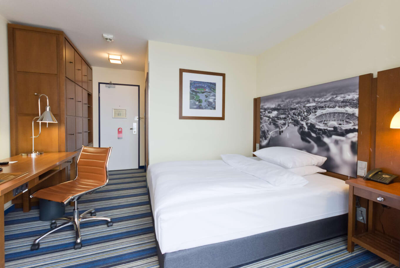 Our single room in Arthotel ANA the Olympiapark | Munich