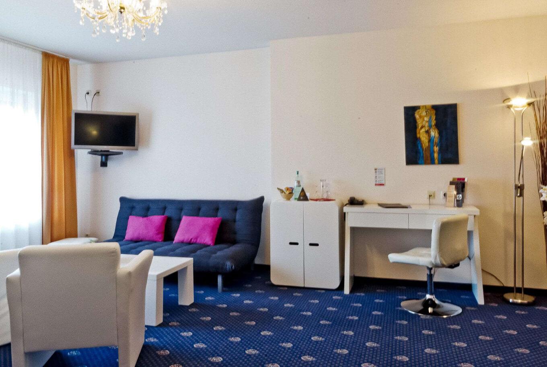 Das Komfortzimmer Arthotel ANA Petite Gersthofen.