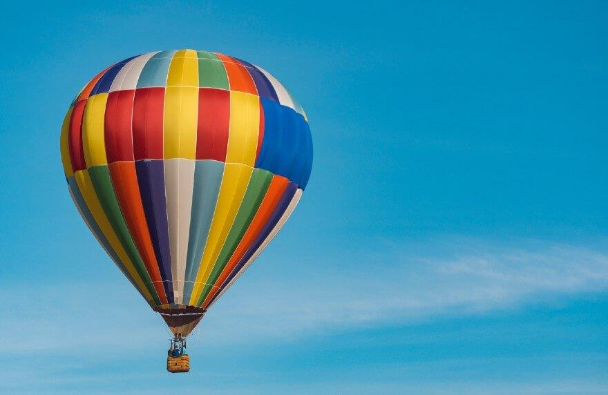 Nicht weit von unserem Gersthofen Hotel können Sie an Balloonfahrten teilnehmen.