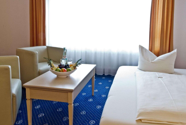 Das Standardzimmer im Arthotel ANA Petite Gersthofen.
