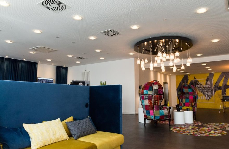 Ideal for small meetings, the City Hotel Lepzig Arthotel ANA Symphonie
