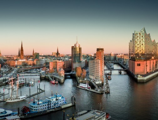 City trips in Germany - Hamburg