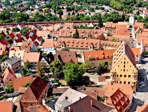 City trips in Germany - Nördlingen